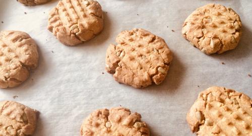 ピーナッツバタークッキーアイキャッチ
